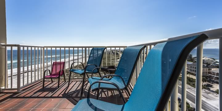View from Sans Souci 708 in Pensacola Beach