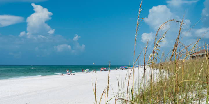 Pensacola Beach Renourishment is underway
