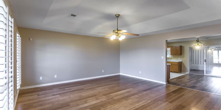 Family room and kitchen at 108 Carrier Drive, Pensacola, FL 32506