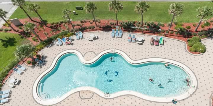 Pool at Emerald Dolphin Condominiums