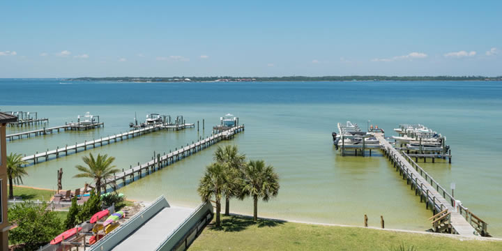View of Santa Rosa Sound from Tristan Towers 3-B