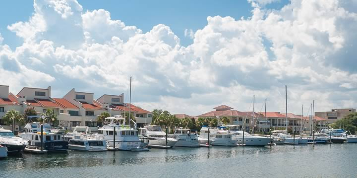 Downtown Pensacola waterfront condos at Port Royal