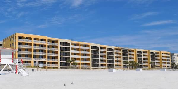 Azure Condominiums from the beach