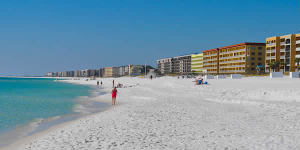 Condominiums loacted on Fort Walton Beach