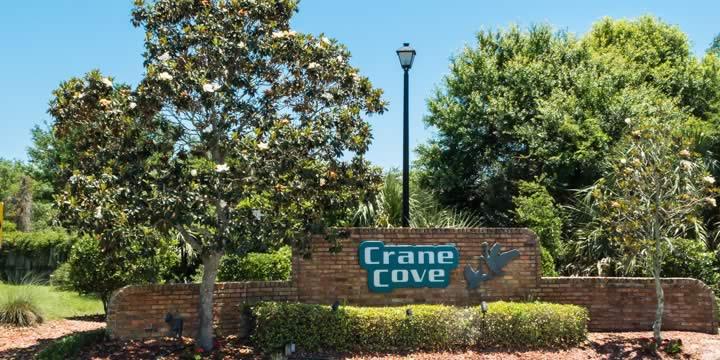 Crane Cove subdivision homes in Gulf Breeze