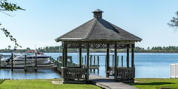 Waterfront gazebo in Mary Esther