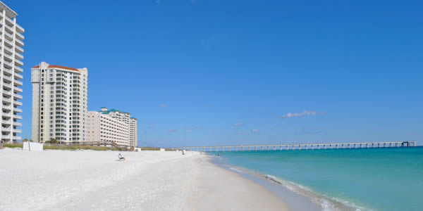 Condos on the beach in Navarre