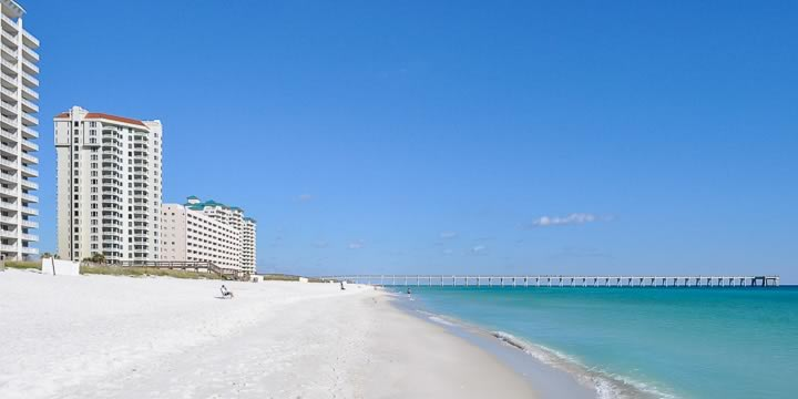 Condos on the beach in Navarre Beach