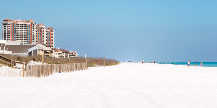 Beach condos in Pensacola Beach