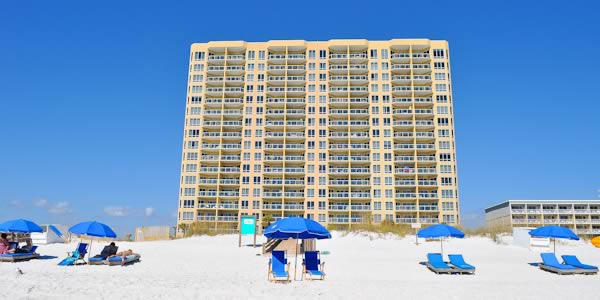 Beach View of Emerald Isle Condos