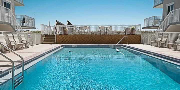 Pool at Starboard Village Condominium