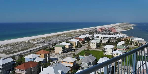 Tristan Towers Beach Scene