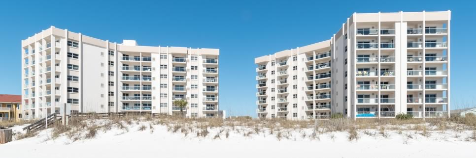 Regency Towers Condominium on Pensacola Bay
