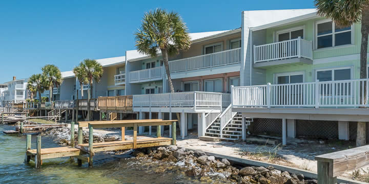 Santa Rosa Villas Townhomes in Pensacola Beach