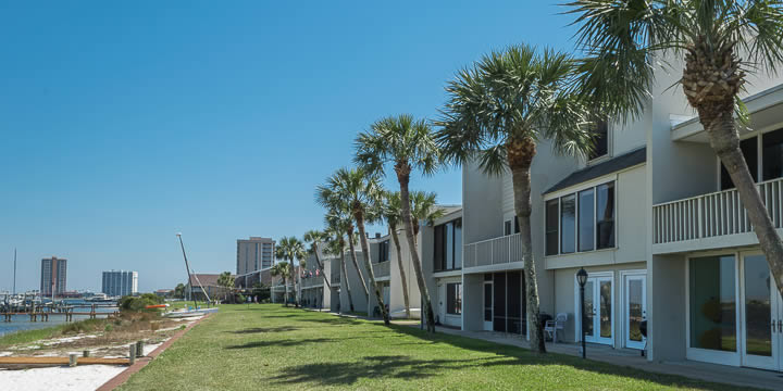 Treehouse Townhomes in Pensacola Beach FL