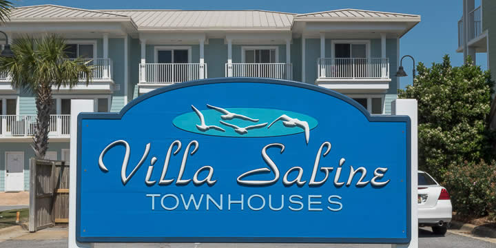 Entrance to Villa Sabine Townhomes