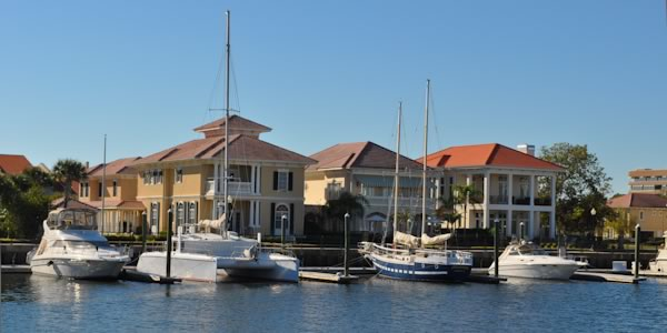 Waterfront Homes in Downtown Pensacola