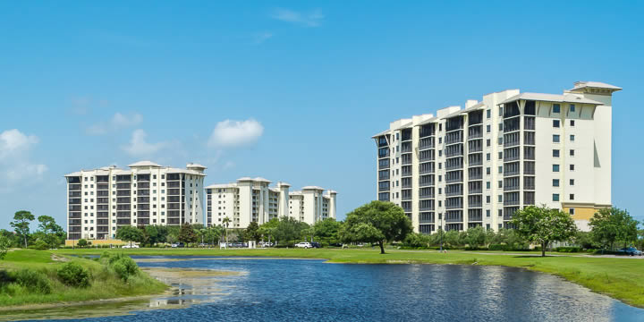 Condominiums at Lost Key Golf and Beach Club