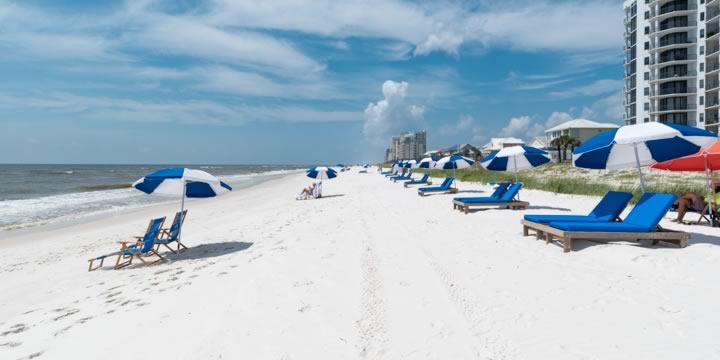 Gulf Beach in Perdido Key Florida