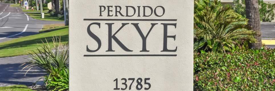 Perdido Skye Condominium entrance