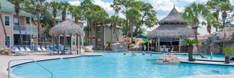 Purple Parrot pool in Perdido Key FL