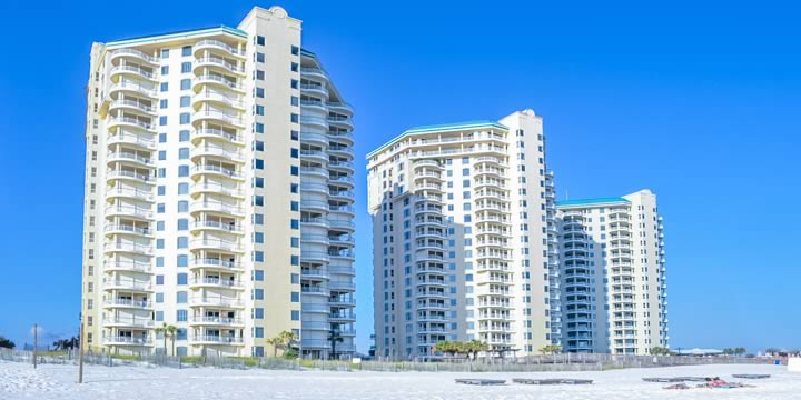 Beach condos in Perdido Key Florida