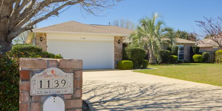 Pensacola house at 1139 Halyard Place is for sale