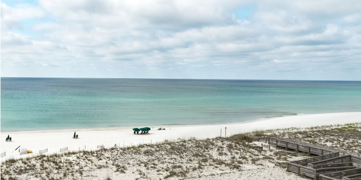 Gulf view from Regency Towers in Pensacola Beach