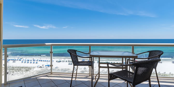 Balcony at Emerald Isle Condominiums