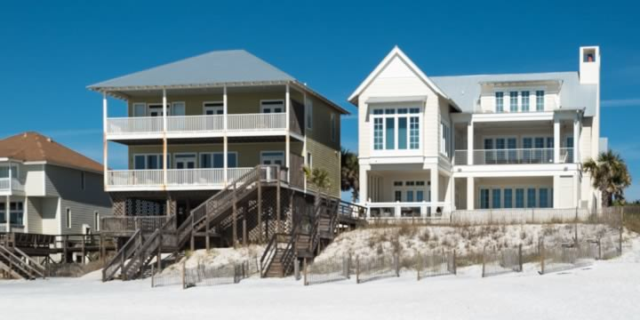 Homes on NW Florida's Gulf Coast