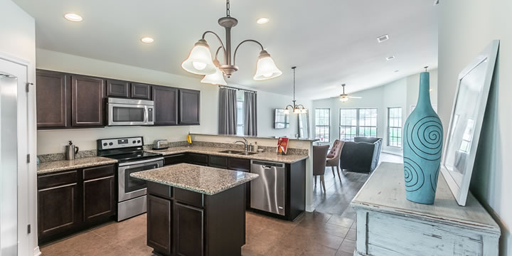 Kitchen at Pace FL home for sale
