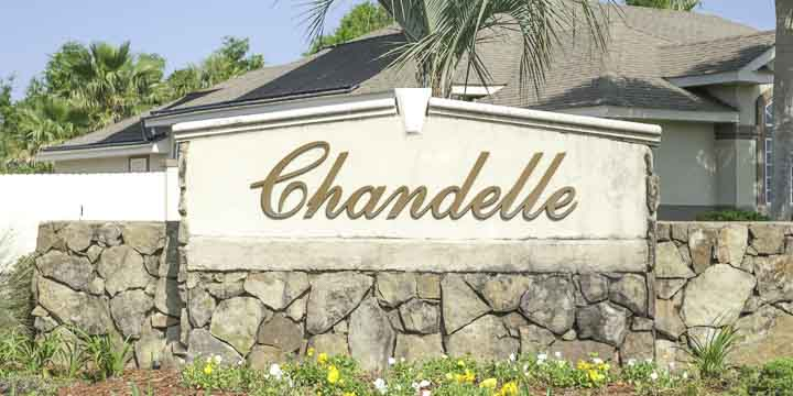 Homes in the Chandelle subdivision